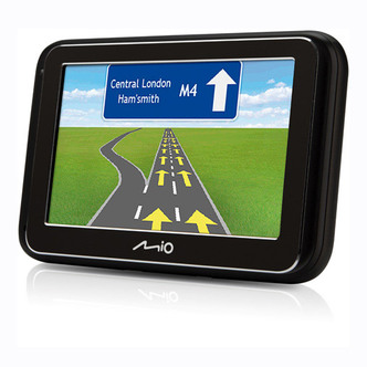 Mio SPIRIT4900LM 4 3 Portable Satnav UK ROI Western Europe Maps