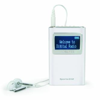 Roberts SPORTSDAB 5 Personal DAB DAB FM RDS Radio
