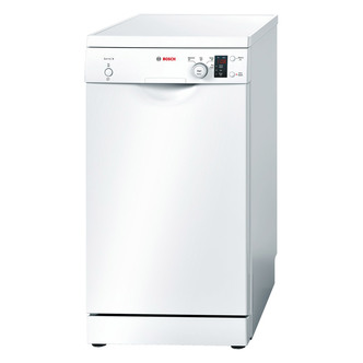 Image of Bosch SPS40E12GB 45cm Serie 4 Slimline Dishwasher in White 9 Place A