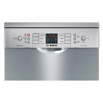 Bosch SPS46II00G 45cm Serie 6 Dishwasher in Silver Inox 9 Place Settin