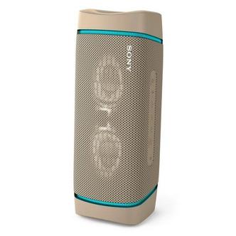 Sony SRS XB33C Waterproof Portable Bluetooth Wireless Speaker in Taupe