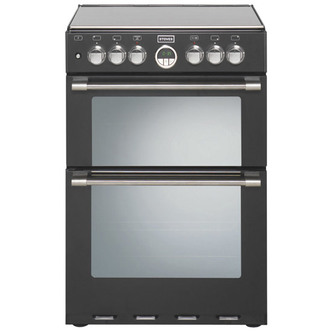 Stoves 444440992 60cm STERLING 600E BLK Electric Cooker in Black