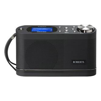 Roberts STREAM104 Stream 104 DAB DAB FM Wi Fi Internet Radio Black