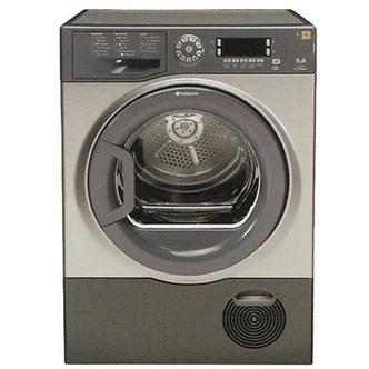 Hotpoint SUTCD97B6GM 9kg ULTIMA Condenser Tumble Dryer in Graphite Sen