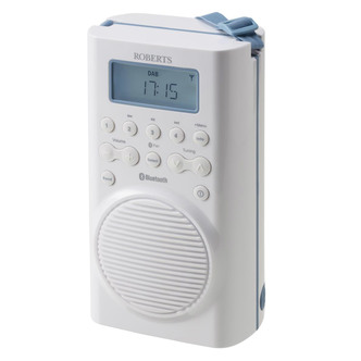 Roberts SPLASH MINI DAB DAB FM RDS All Weather Radio with Bluetooth