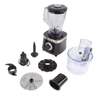 Tower T18004 1 5L Food Processor in Black 600W 2 Speed