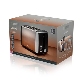 Tower T20038COP 2 Slice Infinity Ombre Toaster Copper