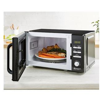 Tower T24037BLK Microwave Oven in Black 20 Litre 800W Mirror Door