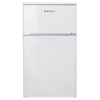 LEC T50084W 50cm 2 Door Undercounter Fridge Freezer in White 3yr G