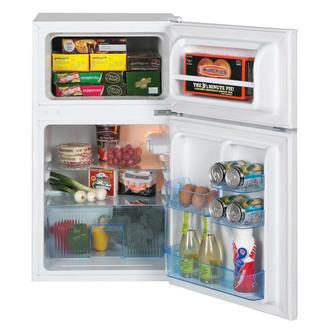 Image of LEC T50084W 50cm 2 Door Undercount Fr Freezer White 0 84m 3yr Wty