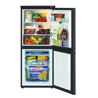 Lec T5039B.1 Freestanding Fridge Freezer -Black