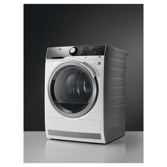 AEG T8DEE945R 8000 Series Heat Pump Tumble Dryer in White 8kg A
