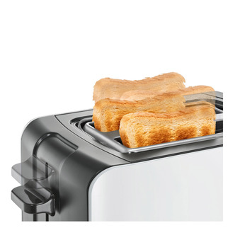 Bosch TAT6A111GB ComfortLine Compact 2 Slice Toaster White