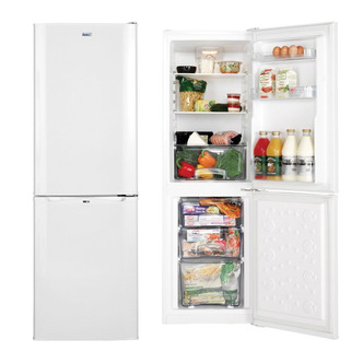 LEC TF50152W Frost Free Fridge Freezer 1 52m 50 50 A Rated 3yr Gte
