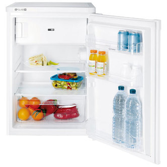 Indesit TFAA10S 55cm Undercounter Fridge with Ice Box in Silver A