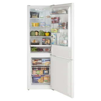 LEC TNF60188S Frost Free Fridge Freezer in Silver 1 88m 60cm E Rated