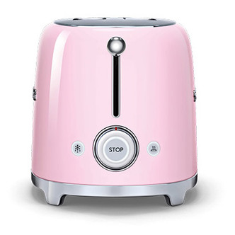 Smeg TSF01PKUK 50 s Retro Style 2 Slice Toaster in Pink