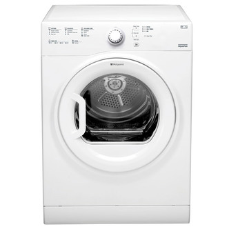 Hotpoint TVFS83CGP 8kg AQUARIUS Vented Tumble Dryer in White