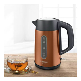 Image of Bosch TWK4P439GB Cordless Traditional Kettle in Copper 1 7L