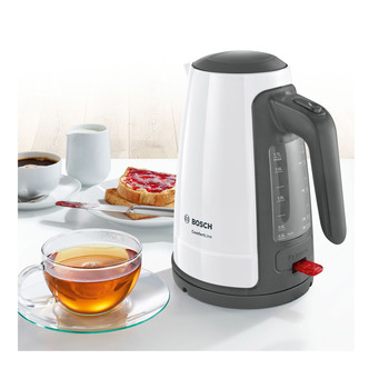 Image of Bosch TWK6A031GB Cordless Jug Kettle in White 1 7L