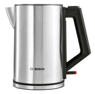 Image of Bosch TWK7101GB Cordless Jug Kettle in Stainless Steel 1 7L