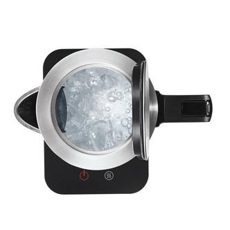 Bosch TWK7203GB Cordless Jug Kettle in Stainless Steel Black 1 7L