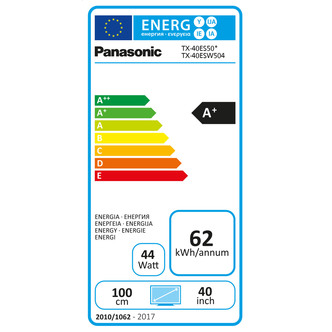 Panasonic TX40ES503B 40 Full HD 1080p Smart LED TV 800Hz Freeview Play