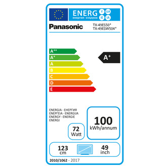 Panasonic TX49ES503B 49 Full HD 1080p Smart LED TV 800Hz Freeview Play
