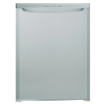 indesit tzaa10s 55cm undercounter freezer in silver 0 85m 90l a rated