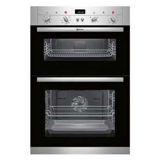 Neff U12S53N3GB Built In Electric Double Oven in Stainless Steel