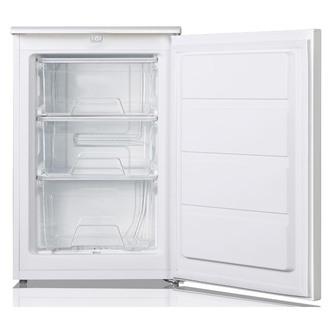 LEC U5517W 55cm Undercounter Freezer in White 0 85m A Rated