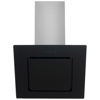 Image of Culina UBHH90BK 90cm Angled Glass Hood in Black Touch Controls