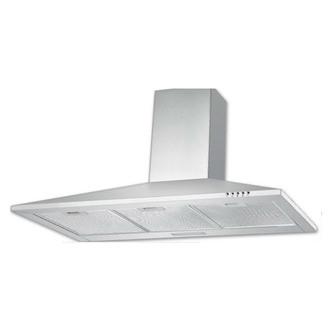Image of Culina UBSCH90SS 90cm Chimney Hood in St Steel 3 Speed Fan