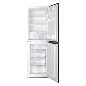 Smeg UKC3170P 60cm Integrated In Column 50 50 Fridge Freezer A Rated