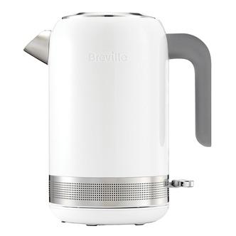Image of Breville VKJ946 1 7 Litre High Gloss Kettle in White 3 0 kW Rapid Boil