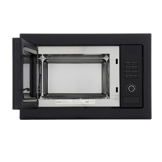 CDA VM230BL Built in Microwave Oven Grill in Black 900W 25 Litre