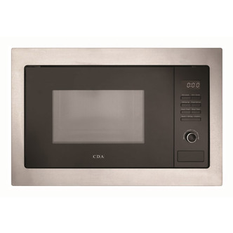 CDA VM231SS Built In Microwave Oven Grill in St S 25L 900W