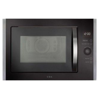 CDA VM452SS Built In Microwave Oven Grill in St St 900W 25 Litre