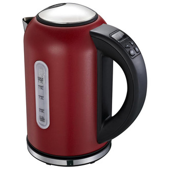 Image of Linsar VT869RED Variable Temperature Jug Kettle in Red 1 7L 3kW