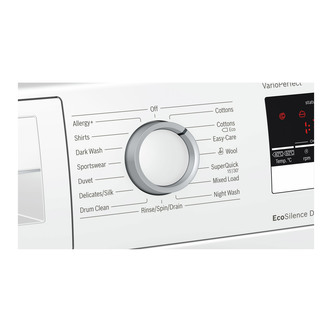 Bosch WAN28201GB Serie 4 Washing Machine in White 1400rpm 8Kg A Rated