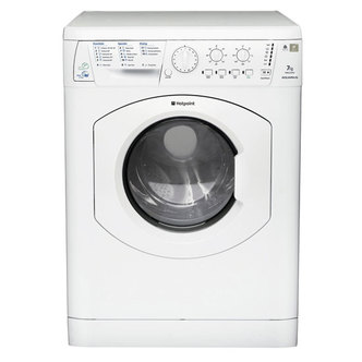 Hotpoint WDL5290P AQUARIUS Washer Dryer in White 1200rpm 7kg 4kg A