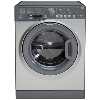 Hotpoint WDPG8640G AQUARIUS Washer Dryer in Graphite 1400rpm 8kg 6kg