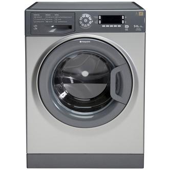 Hotpoint WDUD9640G ULTIMA Washer Dryer in Graphite 1400rpm 9kg 6kg