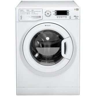 Hotpoint WDUD9640P ULTIMA Washer Dryer in White 1400rpm 9kg 6kg