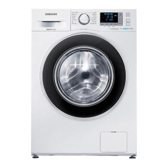 Samsung WF80F5EBW4W ECO BUBBLE Washing Machine in White 1400rpm 8kg