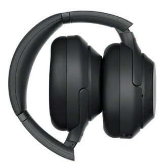 Sony WH 1000XM3B Over Ear Wireless Noise Cancelling Headphones in Blac