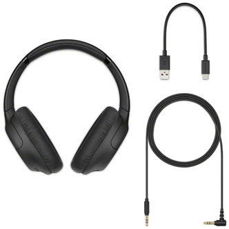 Sony WH CH710NB Over Ear Wireless Noise Cancelling Headphones in Black