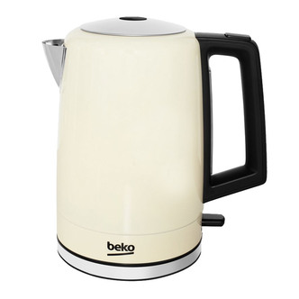 Image of Beko WKM7307C 1 7 Litre Kettle in Champagne 3 0kW Rapid Boil