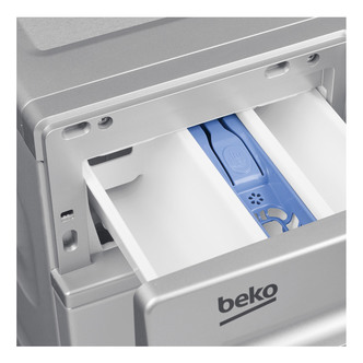 Beko WS832425S Washing Machine in Silver 1300rpm 8kg A Rated