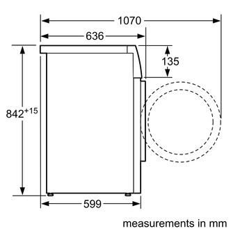 Image of Siemens WT45W492GB iQ500 9kg Heat Pump Condenser Tumble Dryer in White